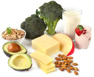 Calciumreiche Lebensmittel